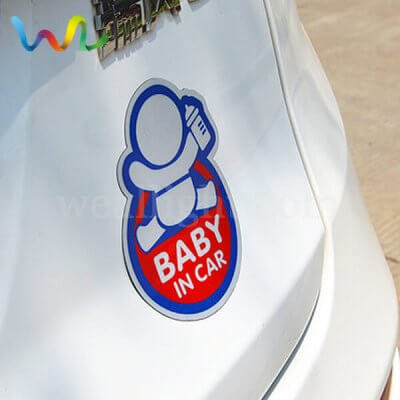 Reflective Magnetic Signs For Cars