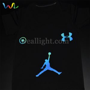 Colorful reflective heat transfer vinyl