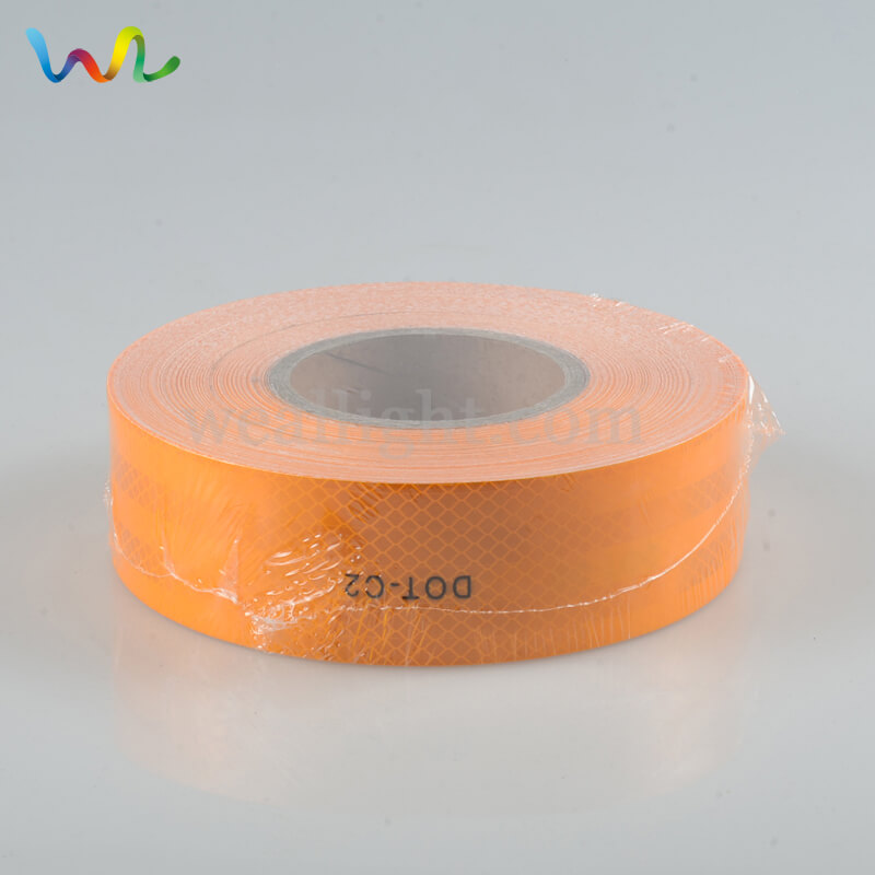 Orange Reflective Tape