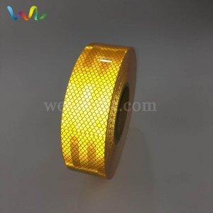 Golden Yellow Reflective Tape