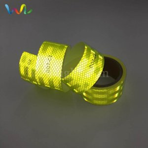 Golden Yellow Reflective Tape