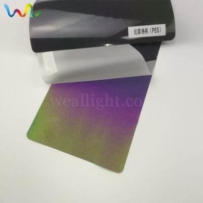 Rainbow Reflective Heat Transfer Vinyl