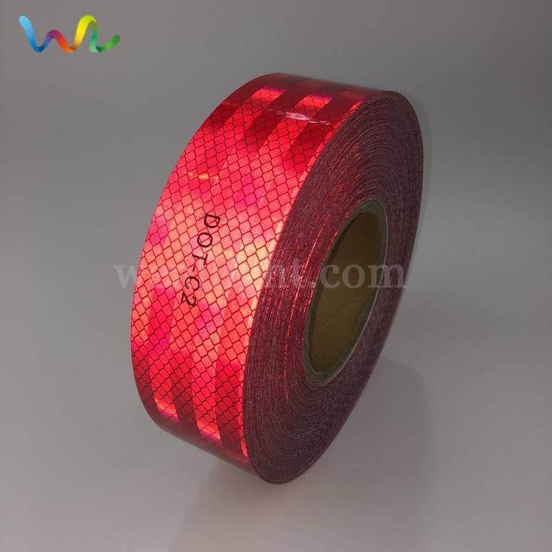 DOT C2 Red Reflective Tape