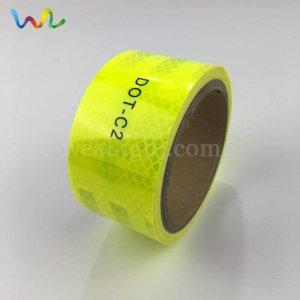 Fluorescent Yellow Reflective Tape