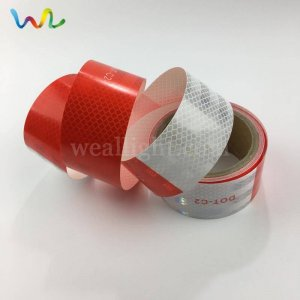 DOT C2 Red and White Reflective Tape