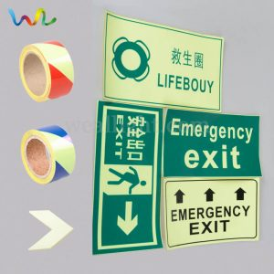 Glow In The Dark Exit Signs