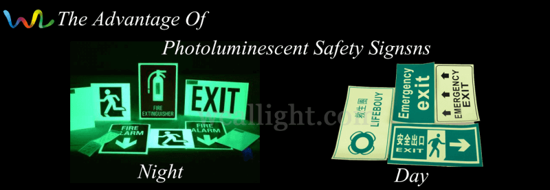 Photoluminescent Safety Signsns