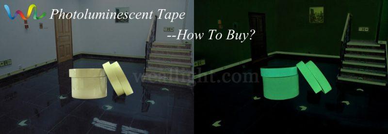 Photo luminescent Tape
