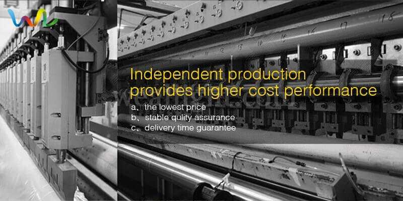 Independent production, provides higher cost performance