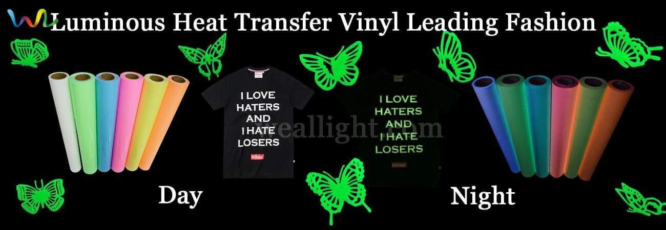 Luminous Heat Transfer Vinyl Leading Fashion