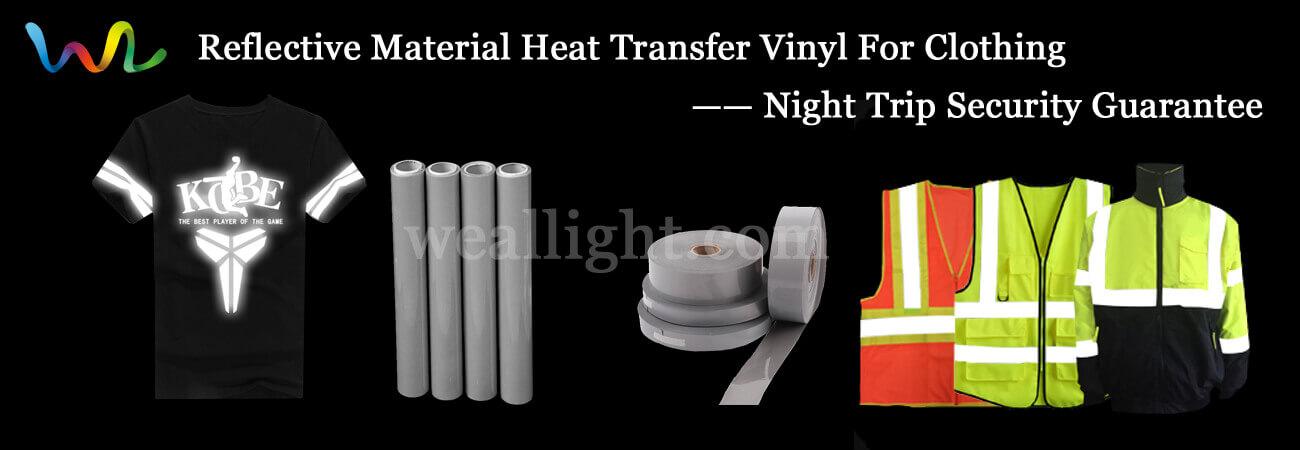 Reflective Heat Press Vinyl For Clothing