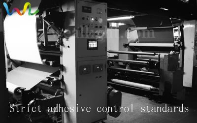 Strict adhesive control standards