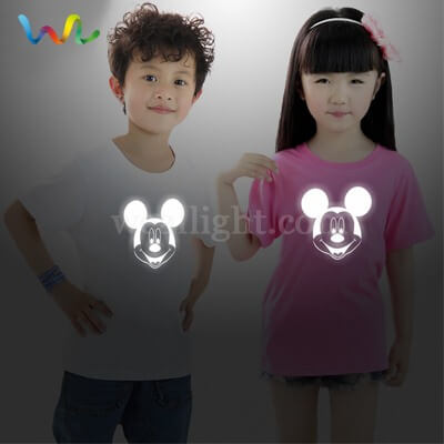 Children reflective t shirt