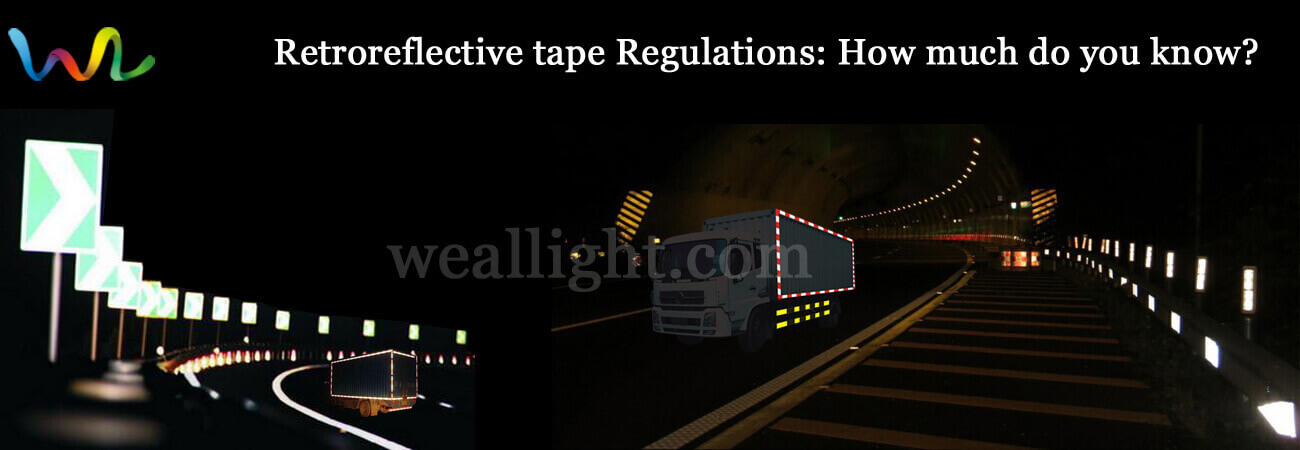Retroreflective tape Regulations, How much do you know