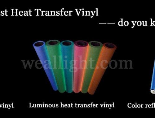 Best heat transfer vinyl —— best shirt material for htv vinyl