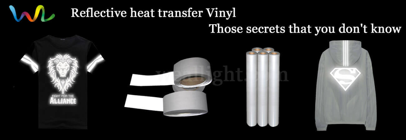 Reflective heat transfer Vinyl, those secrets that you don't know