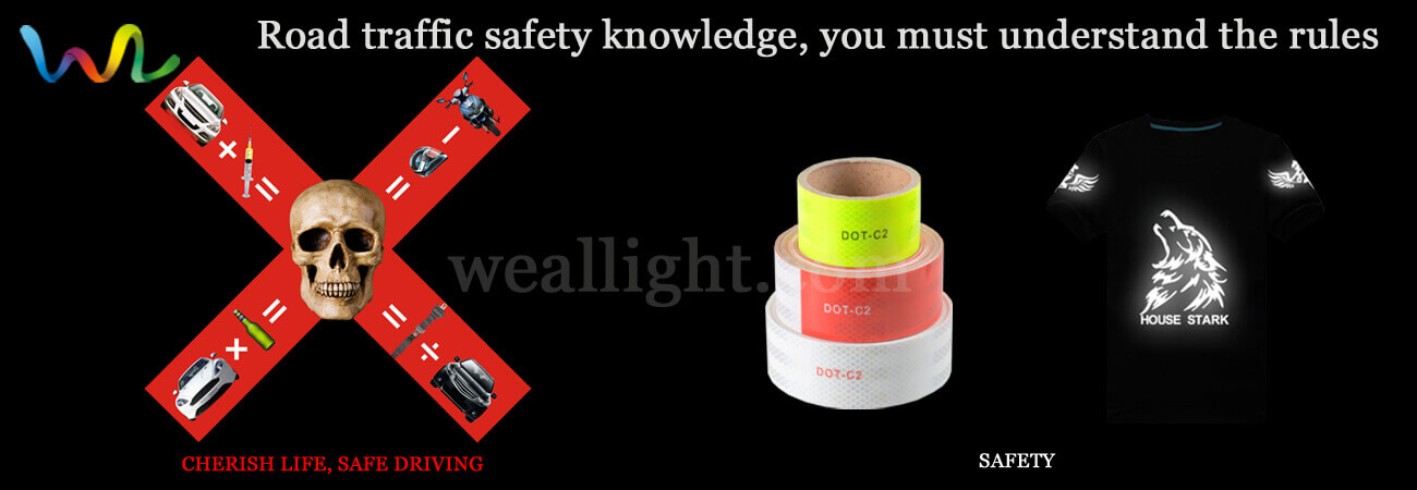 Road traffic safety knowledge, you must understand the rules