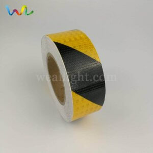 Black/ Yellow Reflective Safety Tape