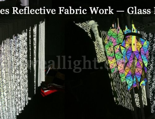 How does reflective fabric work – glass bead reflective tape