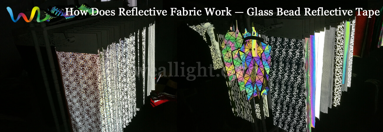 How does reflective fabric work