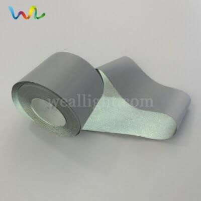 Silver reflective fabric