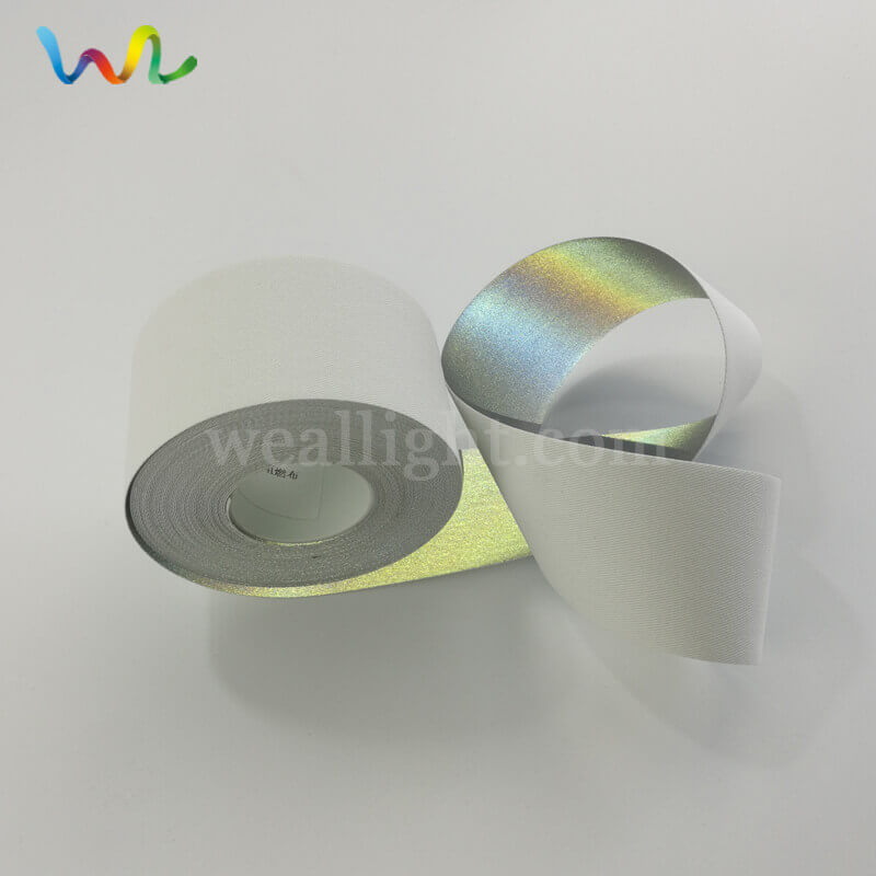 high visibility reflective fabric for clothing