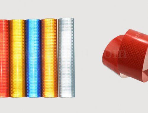 Microprism reflective material and its application prospect