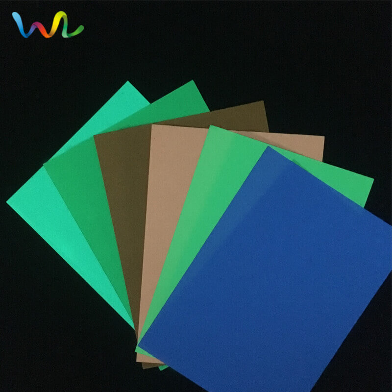 Glow In The Dark Self Adhesive Vinyl