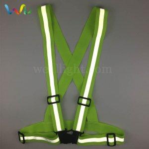 Reflective Safety Strap Vest