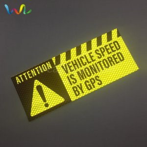 Custom Reflective Bumper Stickers For Cars