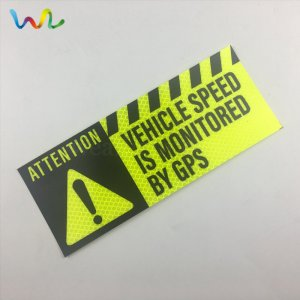Custom Reflective Bumper Stickers Wholesale