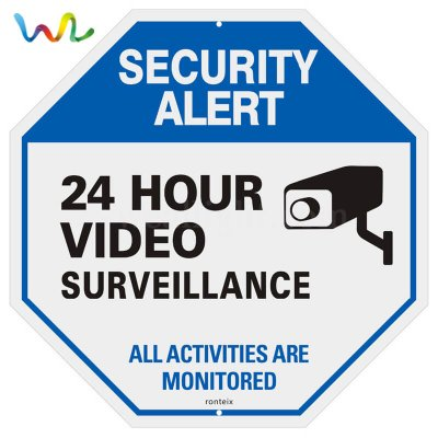 Custom Video Surveillance Signs