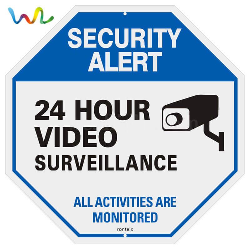 Custom Video Surveillance Signs