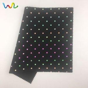 Dot Pattern Reflective Fabric
