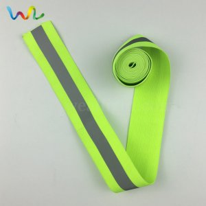 Reflective Grosgrain Ribbon