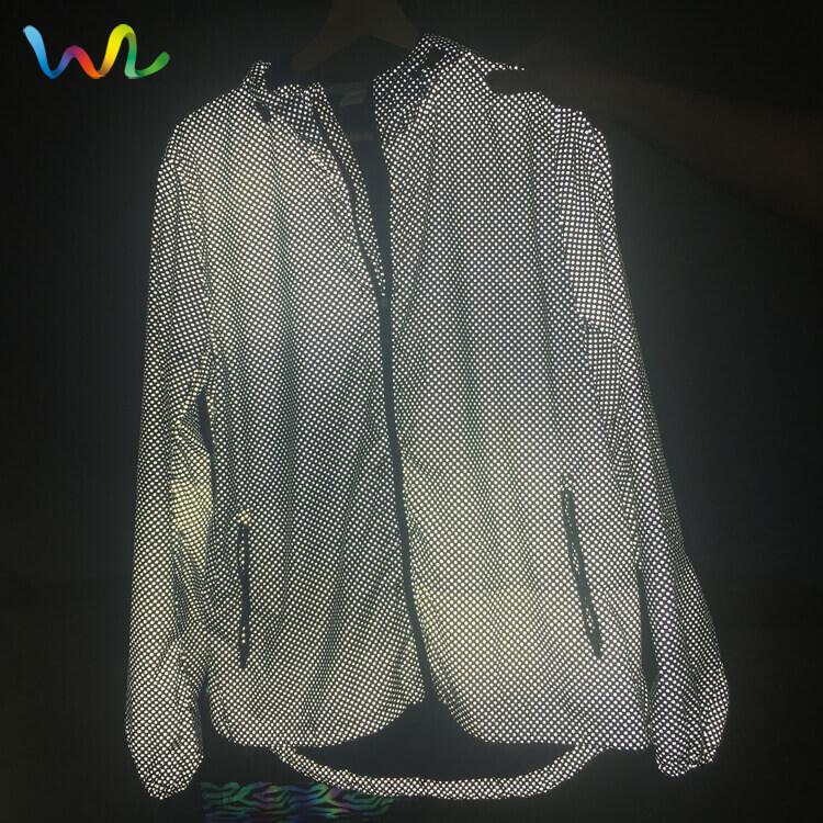 Reflective Mesh Fabric Clothing