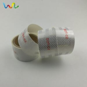 DOT-C2 White Reflective Tape