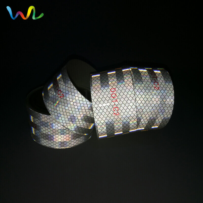 DOT-C2 White Reflective Tape Wholesale