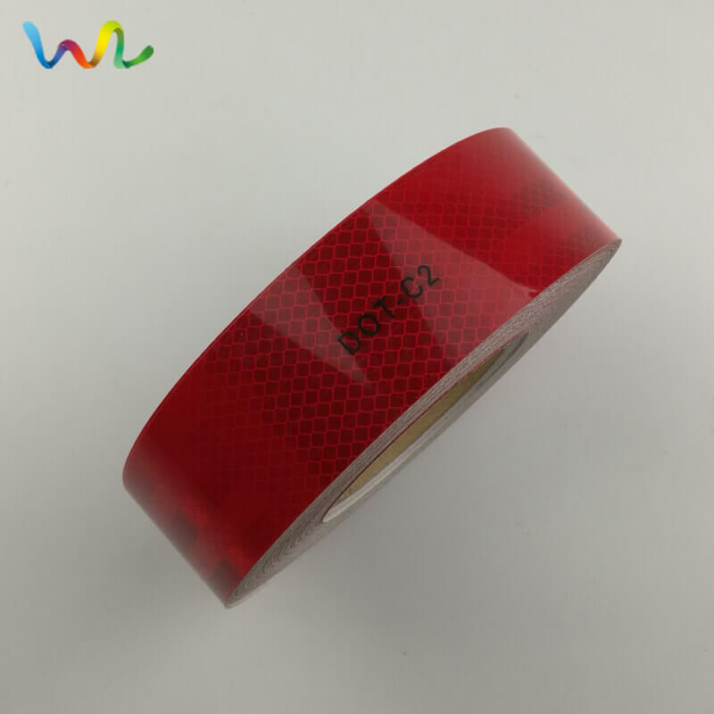 Red DOT Reflective Tape Wholesale Supplier