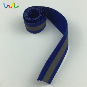Blue Reflective Fabric For Clothing