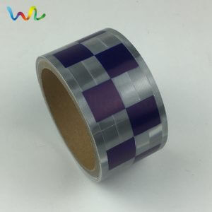 Blue Silver Reflective Tape For Clothing
