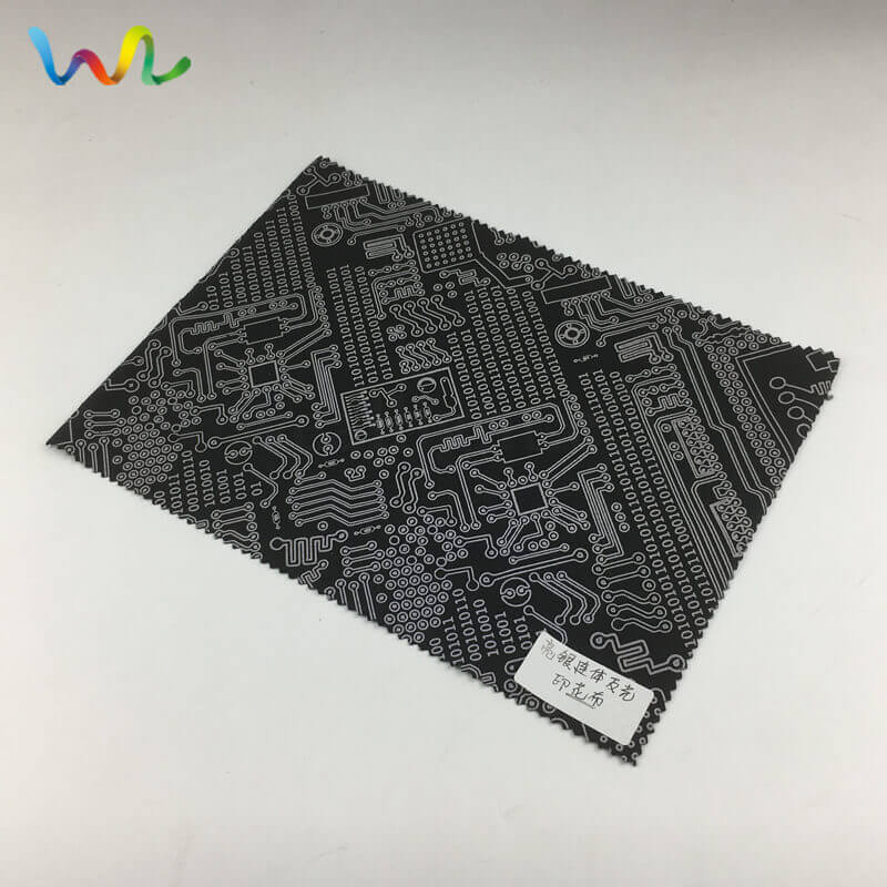 Reflective Fabric By The Yard For Clothing Wholesale