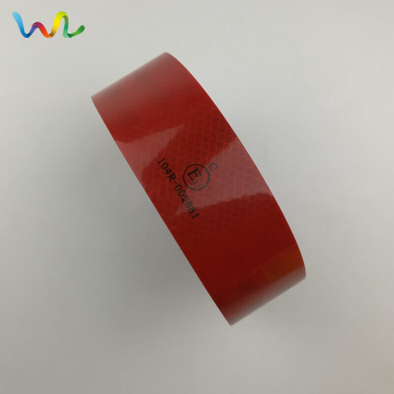 Reflective Tape With ECE 104 Standards Supplier