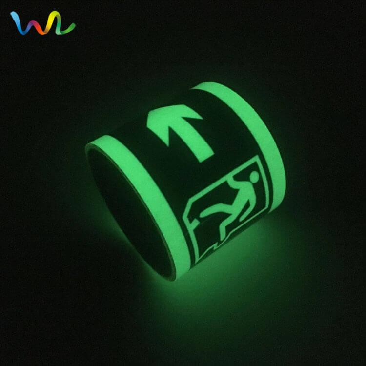 Photoluminescent Exit Tape