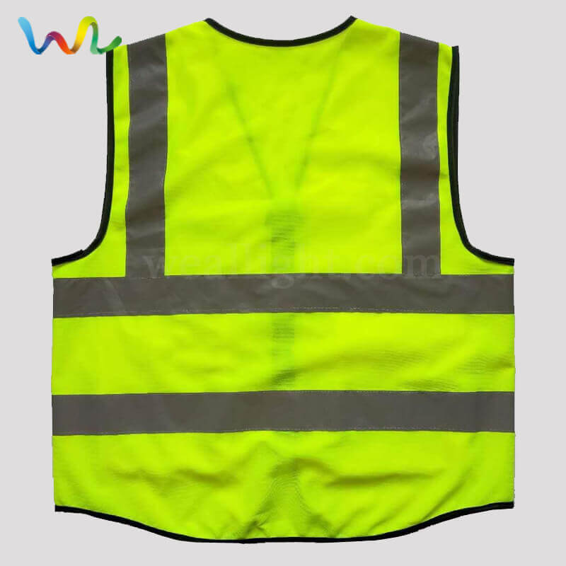 Custom Safety Vest With Pockets Wholesale Supplier
