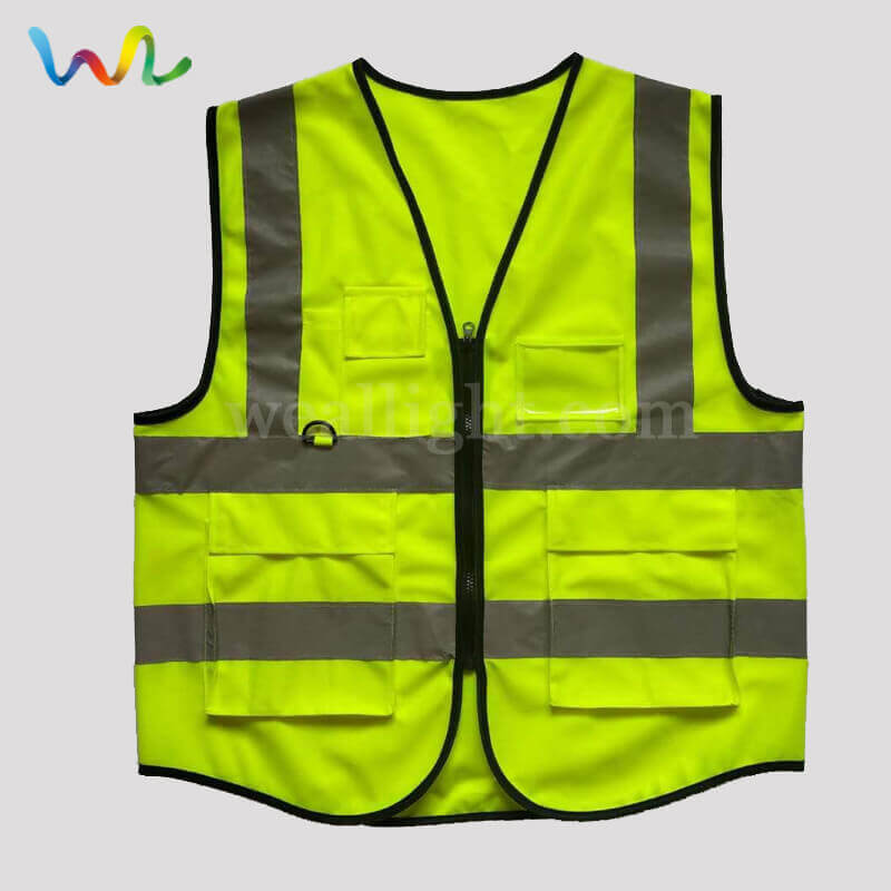 Custom Safety Vest With Pockets