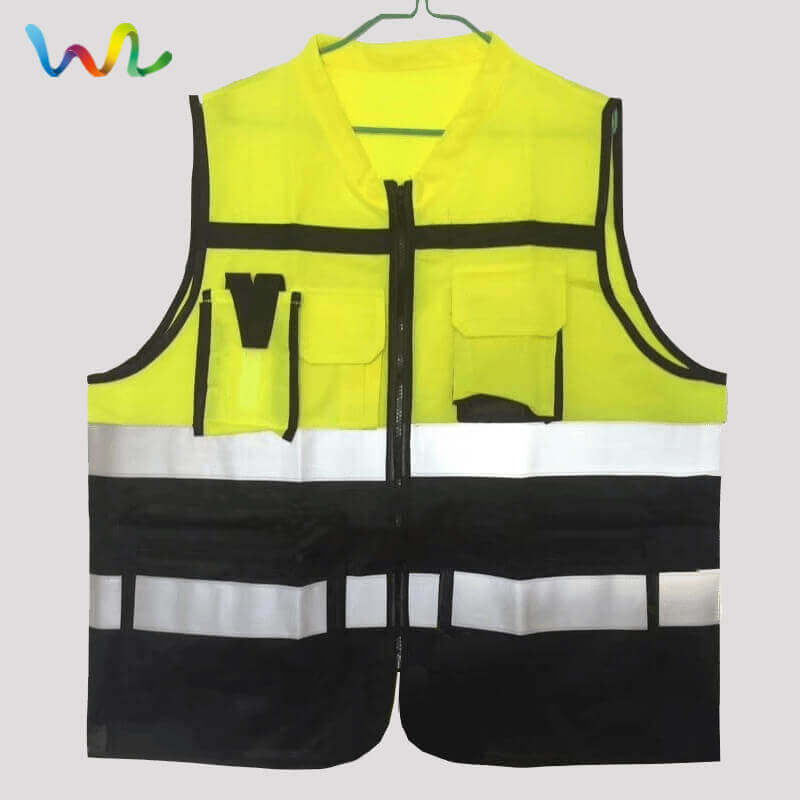 Reflective Vest Suppliers Safety Vest With Pockets