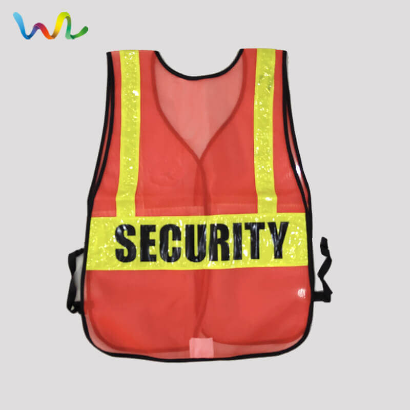 Security Guard Reflective Vest Uniform Suppliers Wholesale