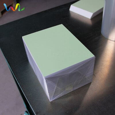 Photoluminescent Rigid Sheet