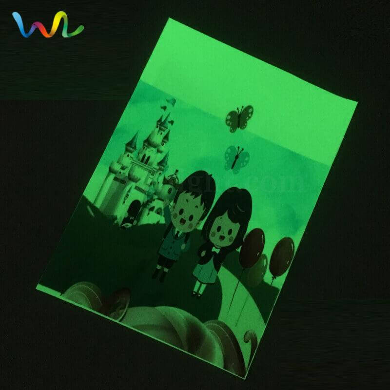 Transparent Luminescent Film Clear Glow In The Dark Vinyl Wholesale